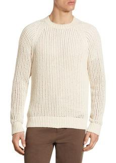 Vince Regular-Fit Open Weave Crew Sweater