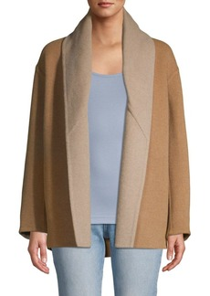 Vince Reversible Shawl Collar Coat