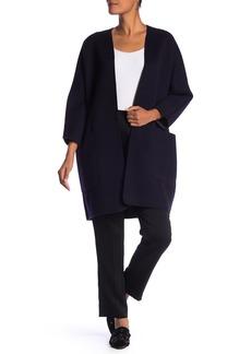Vince Reversible Wool Blend Coat