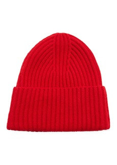 Vince Ribbed Cashmere Beanie Hat