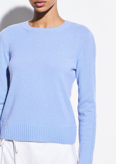 Vince Ribbed Cashmere Crew