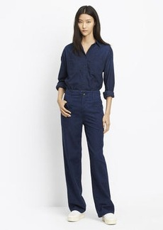 Rinsed Patch Front Utility Pant