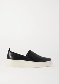 Vince Saxon Leather Sneakers