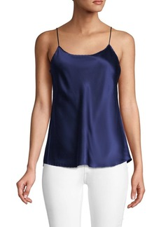 Vince Scalloped Silk Camisole