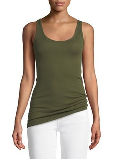 Vince Scoop-Neck Knit Tank