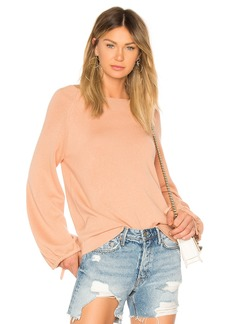 Vince Scrunch Sleeve Blouse