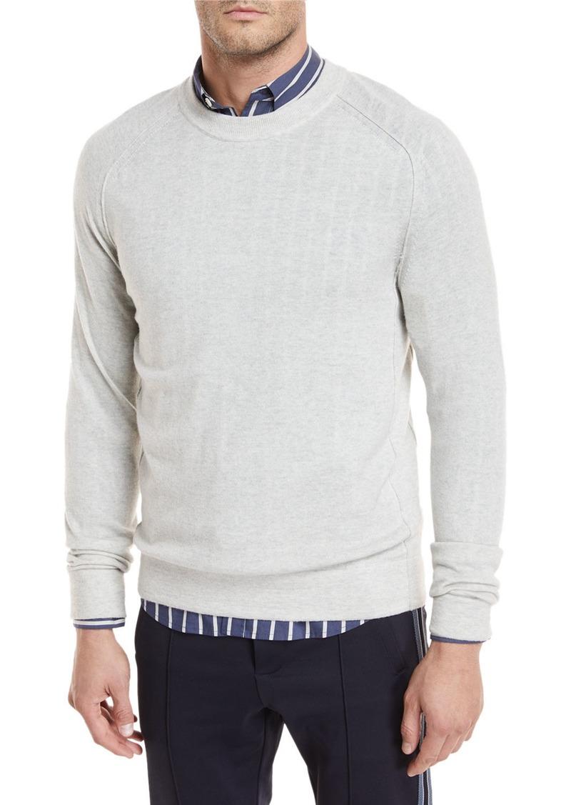 Vince Seamed Merino Crewneck Sweatshirt