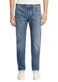 Vince Selvedge Straight-Fit McGuiness Jeans
