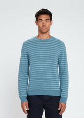 Vince Shadow Stripe Crewneck Sweater - S - Also in: L, M, XL