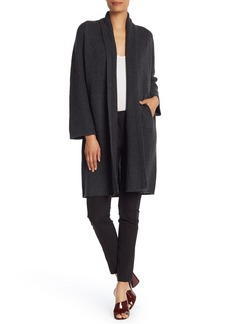 Vince Shawl Collar Wool Blend Cardigan