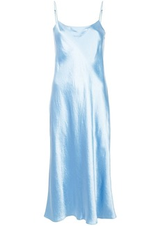 Vince sheen effect fitted dress