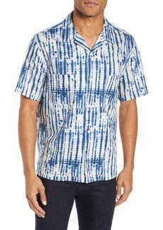 Vince Shibori Print Slim Fit Sport Shirt