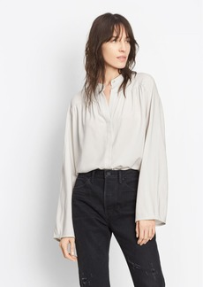 Shirred Full Sleeve Blouse