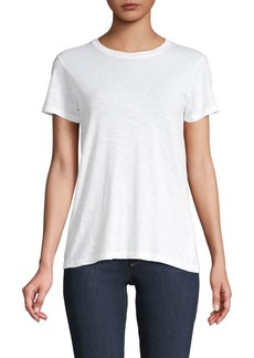 Vince Short-Sleeve Cotton Tee