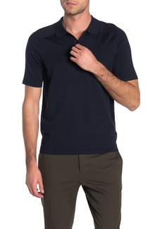 Vince Short Sleeve Knit Polo
