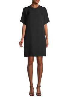 Vince Short-Sleeve Shift Dress