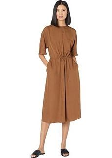 Vince Short Sleeve T-Shirt Dress