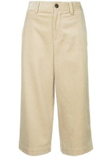 Vince short straight-leg trousers