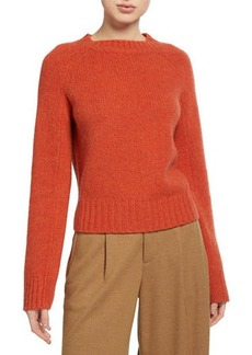 Vince Shrunken Cashmere Crewneck Sweater