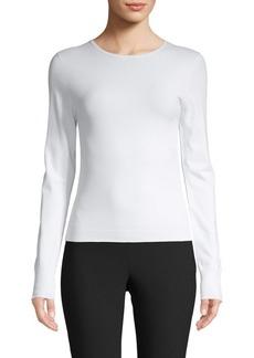 Vince Shrunken Cropped Pullover
