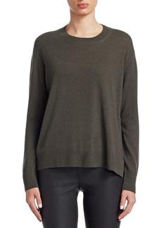Vince Silk Crewneck Sweater