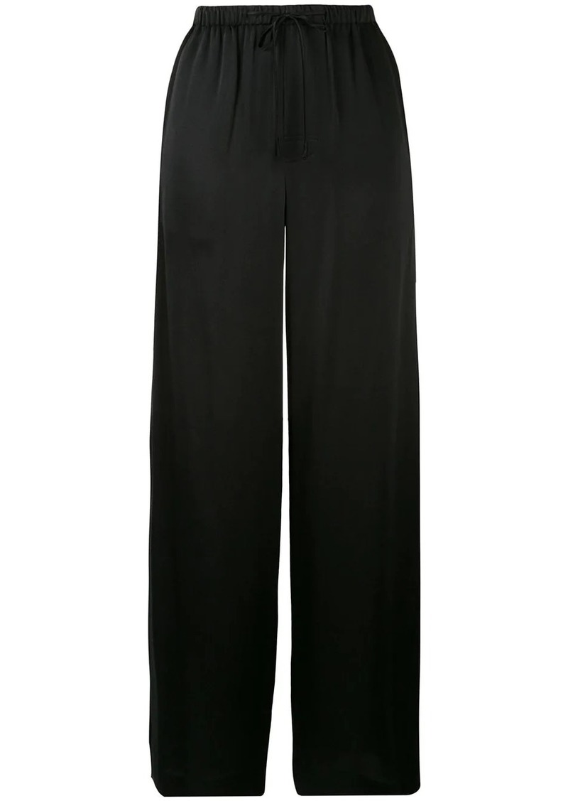 Vince silk pyjama-style trousers