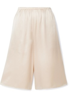 Vince Silk-satin Shorts