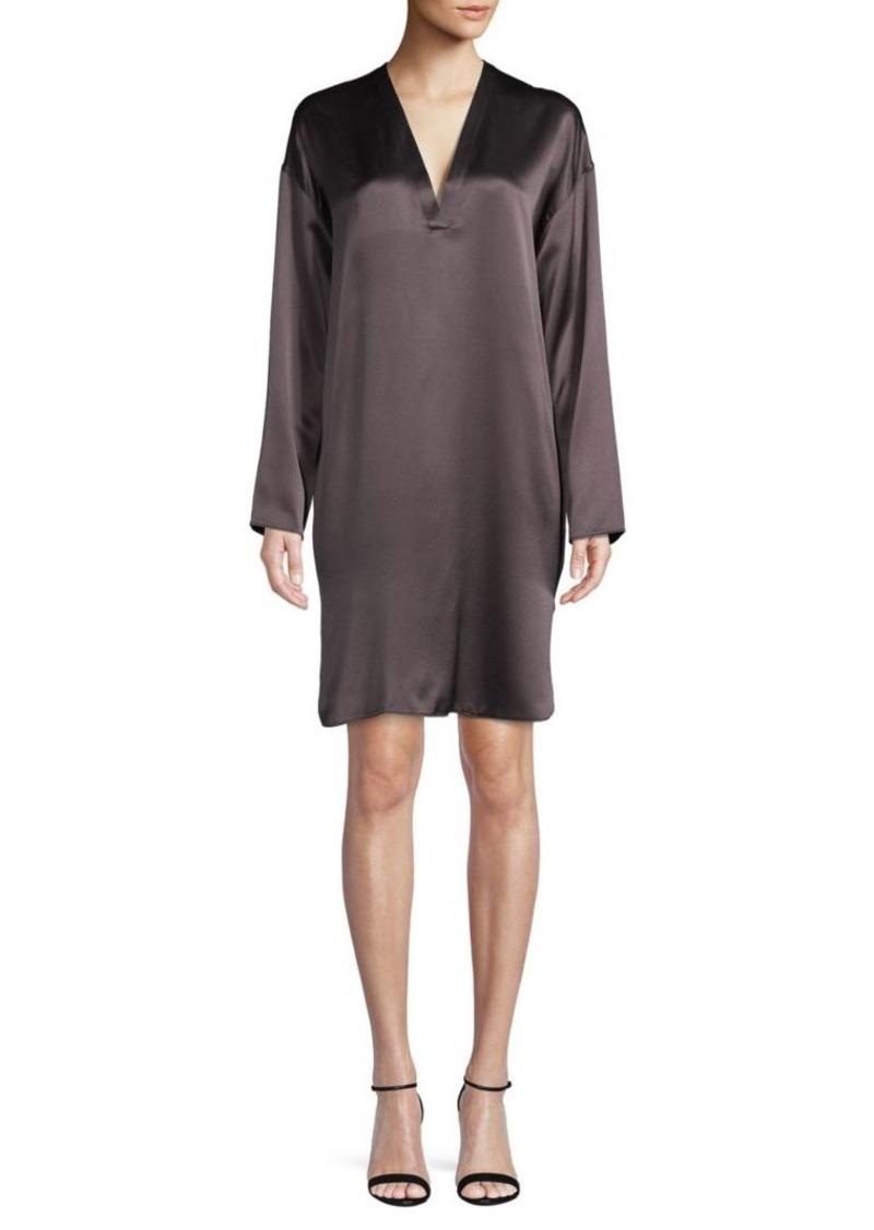 Vince Silk Tunic Dress
