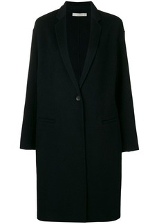 Vince single breasted midi coat