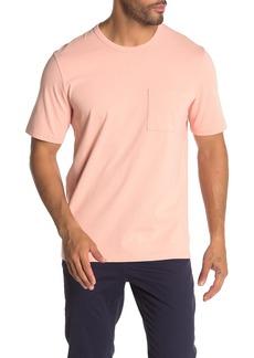 Vince Single Pocket Short Sleeve Crew Neck T-Shirt