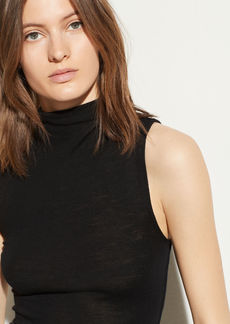 Vince Sleeveless Funnel Neck
