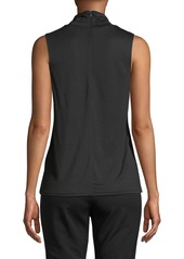 Vince Sleeveless Turtleneck Top