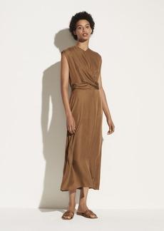 Vince Sleeveless Twist Front Dress