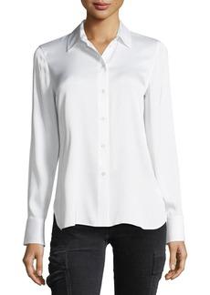 Vince Slim Fit Button-Front Shirt