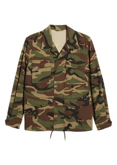 Vince Slim Fit Camo Jacket
