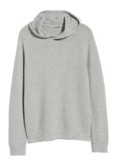 Vince Slim Fit Marled Cashmere Pullover Hoodie