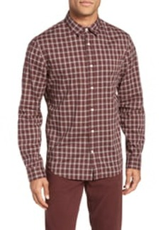 Vince Slim Fit Plaid Shirt