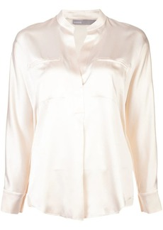 Vince slit detail blouse