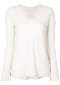 Vince slouch knitted top