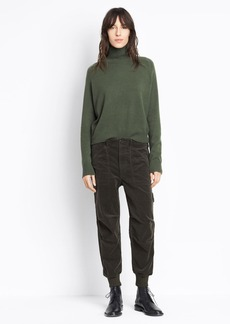 Slouchy Military Pant