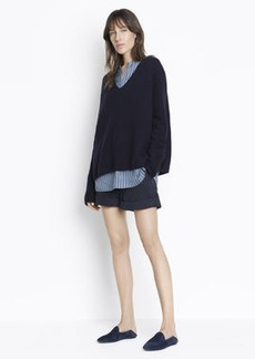 Vince Slouchy Rolled Cuff Shorts