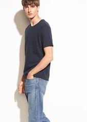 Vince Slub Cotton Crewneck T-shirt