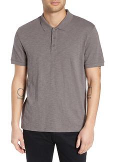 Vince Slub Slim Fit Polo Shirt