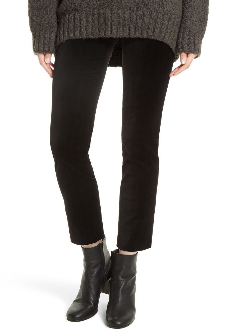 Vince Solid Velvet Leggings