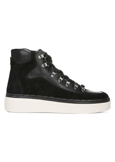 Vince Soren Leather & Suede High-Top Sneakers
