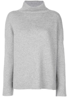 Vince stand-up collar jumper