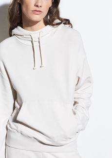 Vince Stretch-Cotton Hoodie