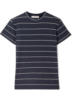 Vince Striped Pima Cotton-jersey T-shirt