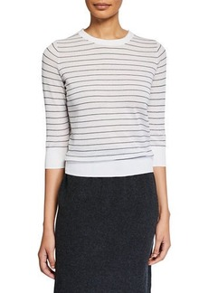 Vince Striped Pullover