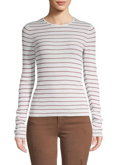 Vince Striped Wool Top